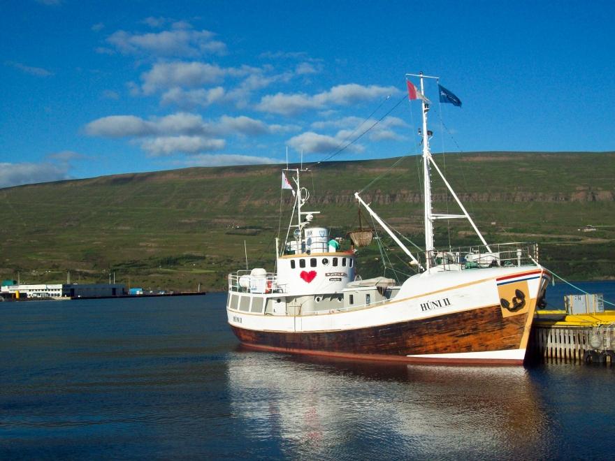 Boat in Akureyri