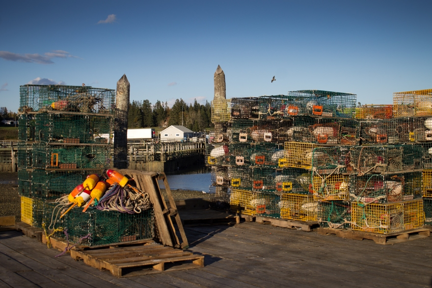 Lobster Traps, Maine