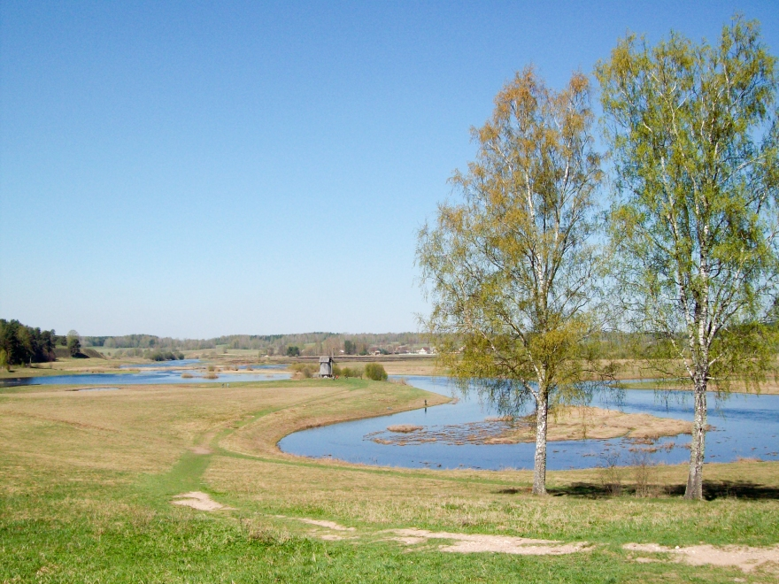 View Near Mikhaylovskoye