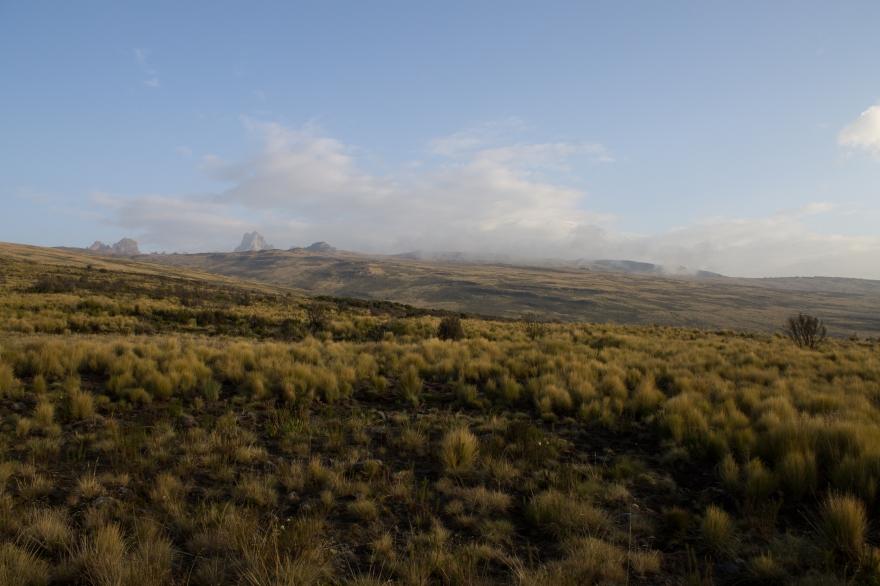 Peaks of Mount Kenya