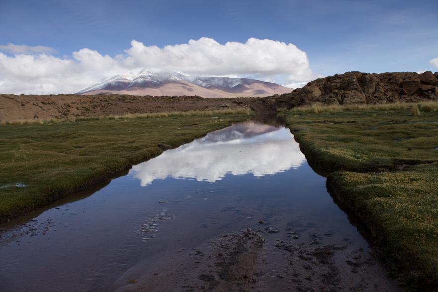 Reflection, SW Bolivia