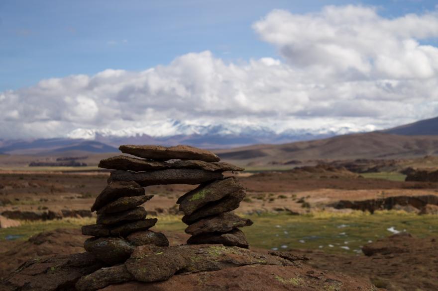 Cairn, SW Bolivia