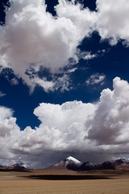 Desert Mountains Clouds, SW Bolivia