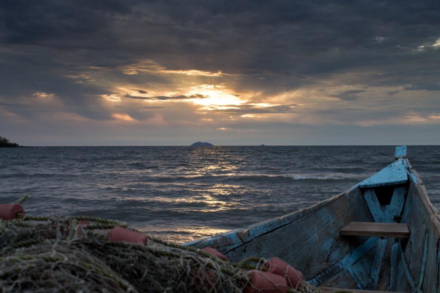 Boat, Lake Victoria, Kenya