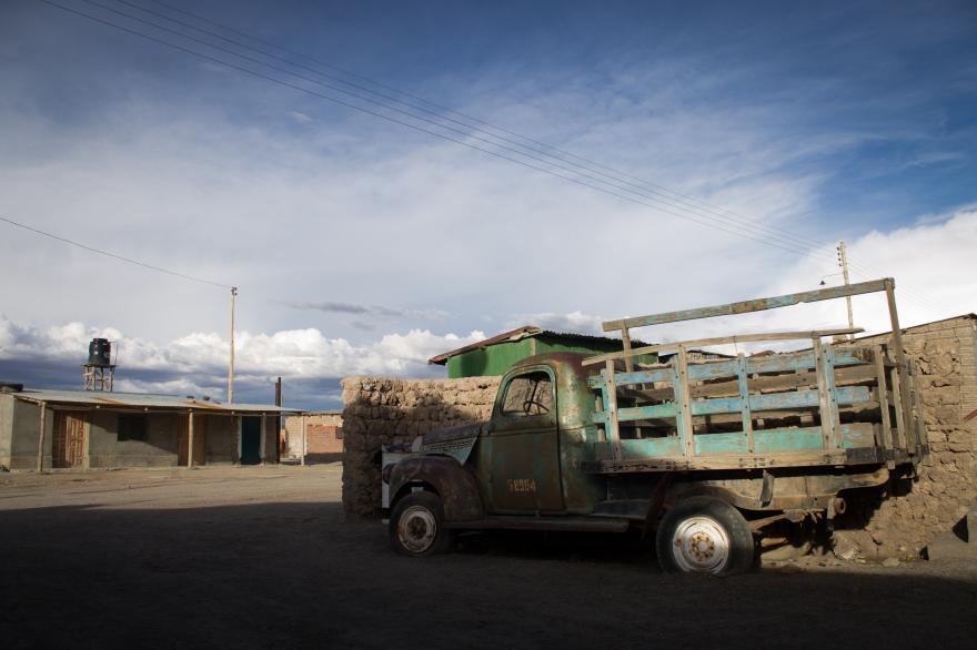 Truck, Colchani, Bolivia