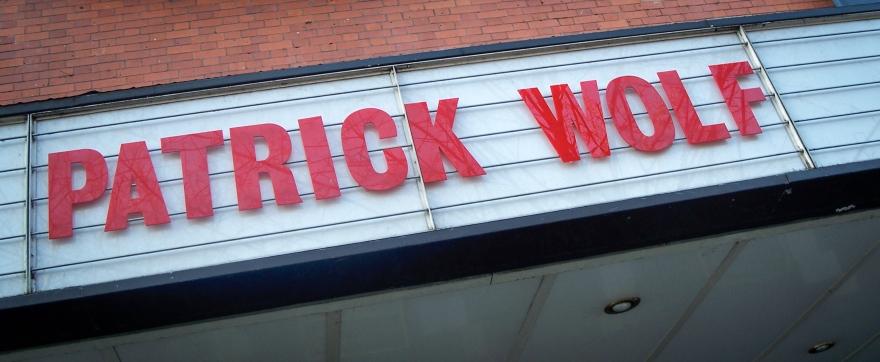 Patrick Wolf Sign