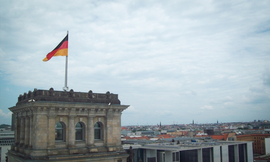 View from the Reichstag Building