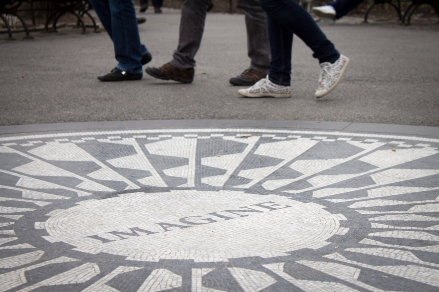 Strawberry Fields, Central Park, NYC