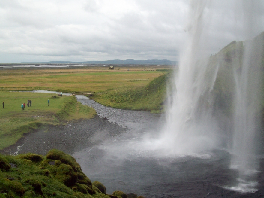 Waterfall in South Iceland