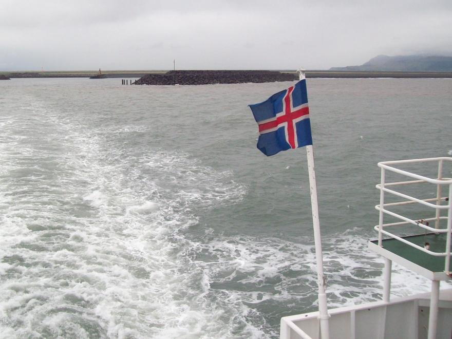 Ferry to Vestmannaeyjar