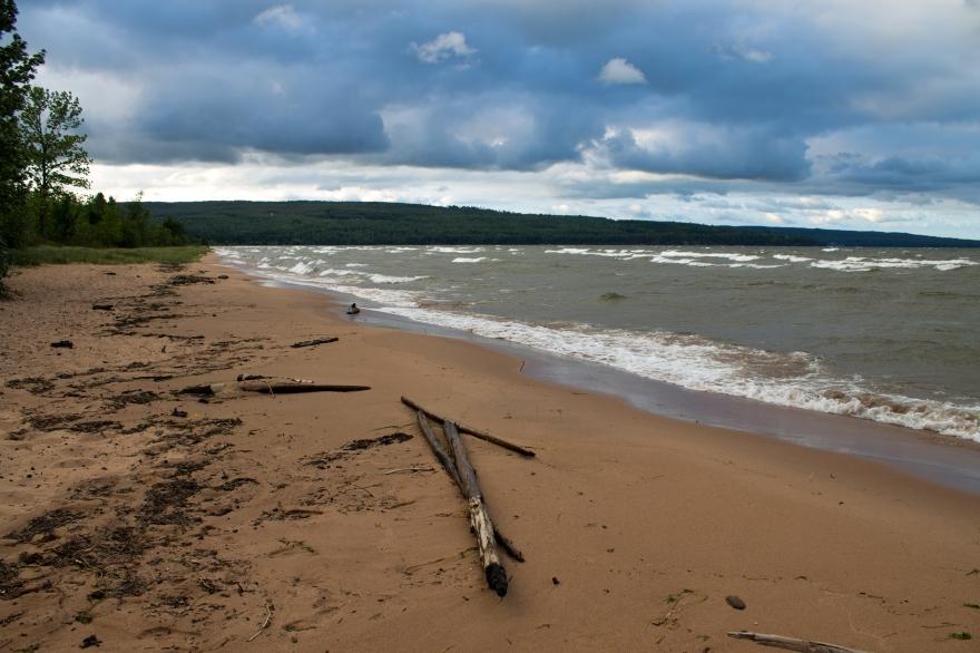 Beach of Lake Superior