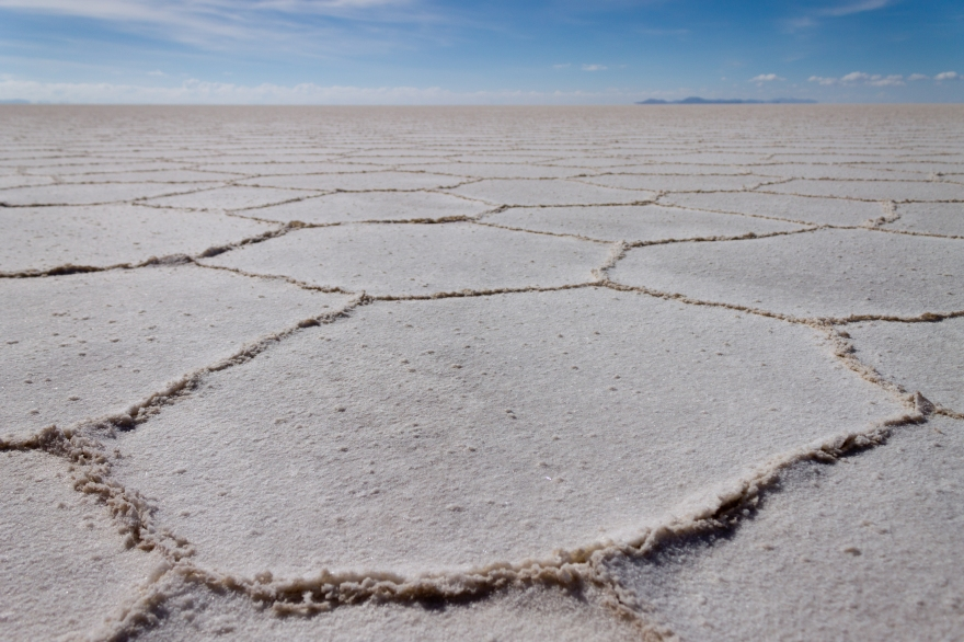 Cracked Earth, Salar de Uyuni