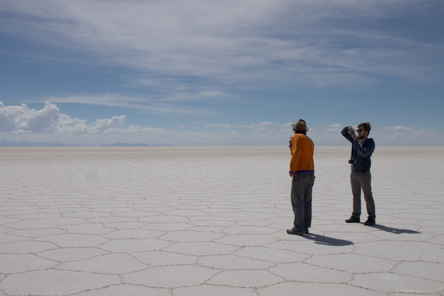 Photo Making, Salar de Uyuni