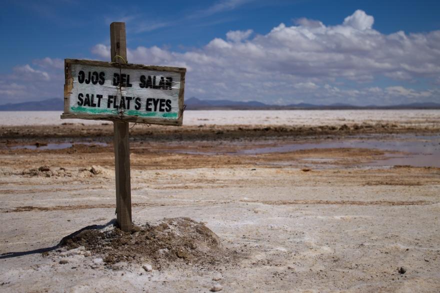 Ojos del Salar, Salar de Uyuni