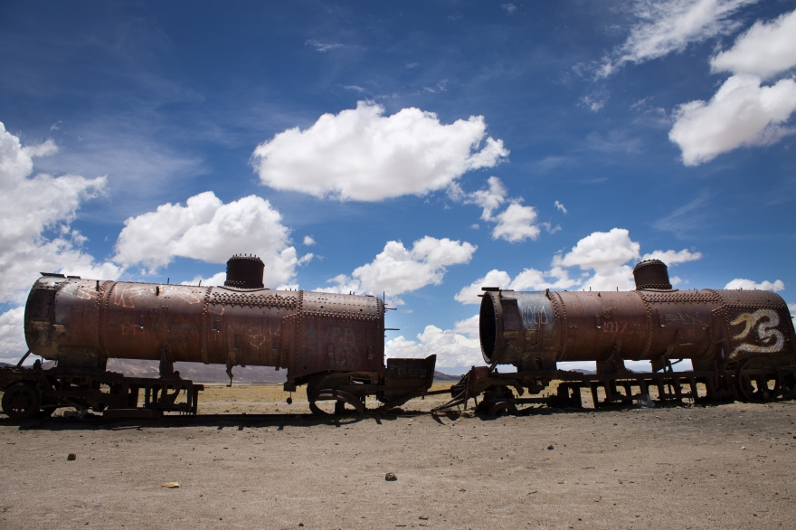 Train Cemetery, Uyuni