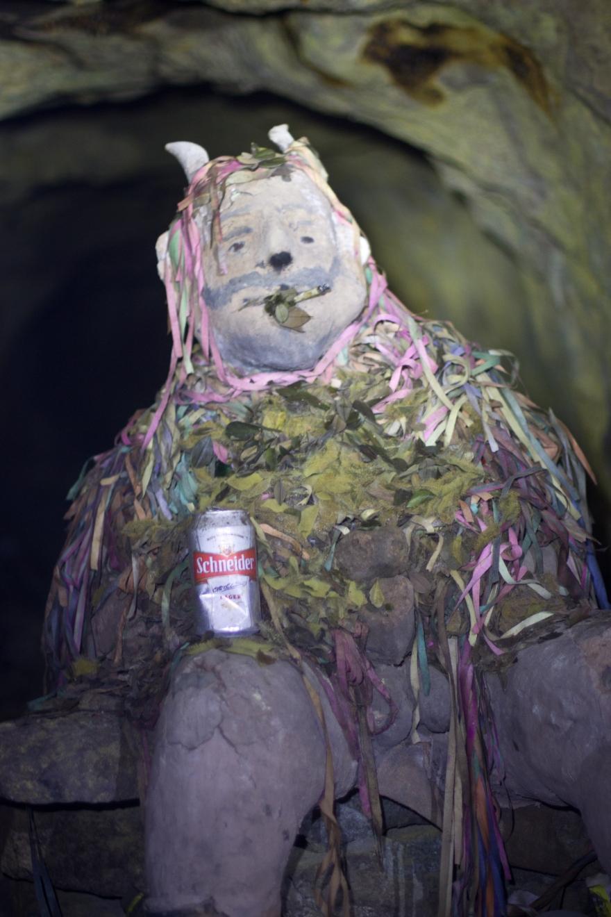 El Tío in the Mines of Potosí