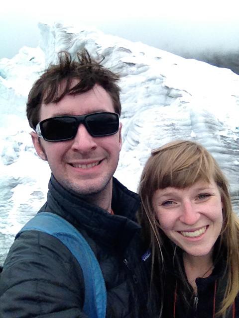 Ben and I, Pastoruri Glacier, Peru