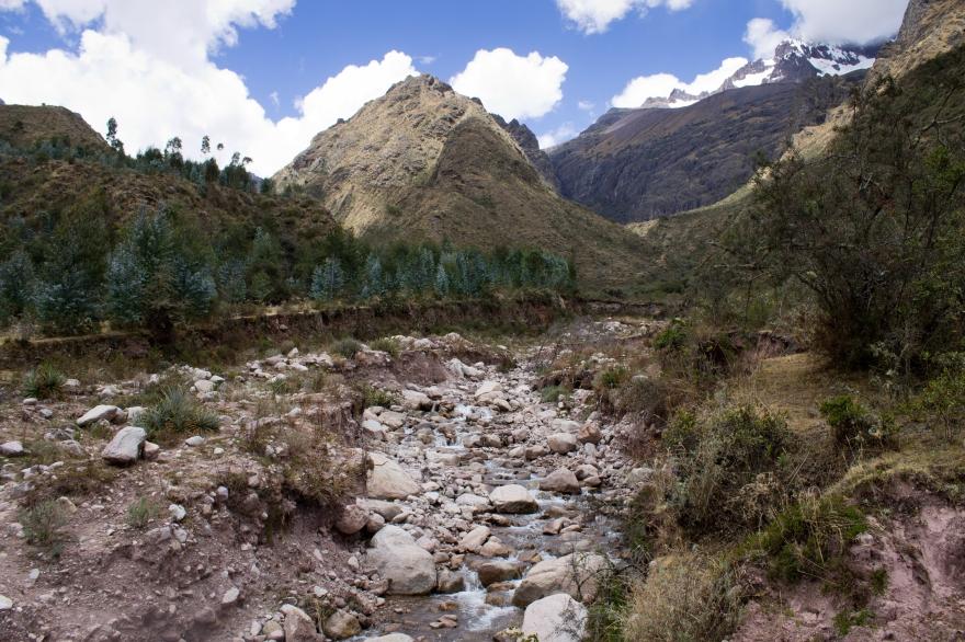 Riverbed Near Chicon, Peru