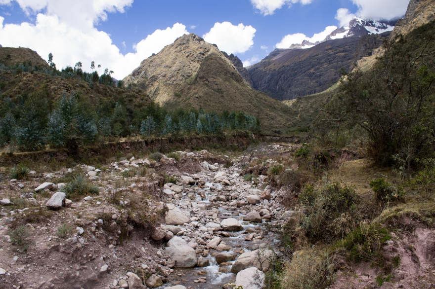 Riverbed Near Chicon, Peru