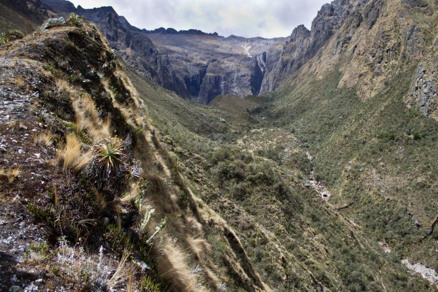 Ridge to the Waterfall, Peru