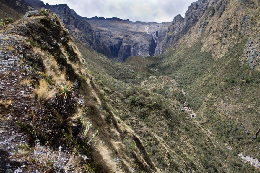 Ridge to the Waterfall, Peru