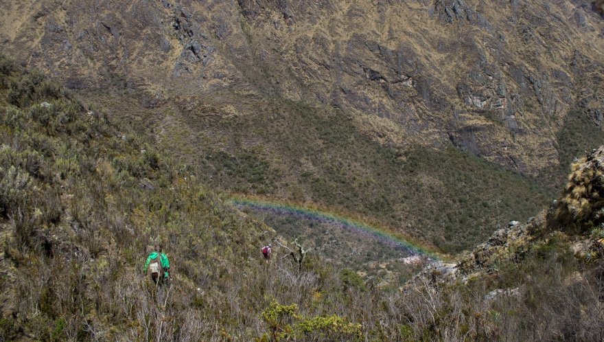 Rainbow Hike, Sacred Valley, Peru