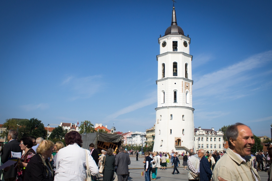 Baltic Chain Anniversary Celebrations, Vilnius