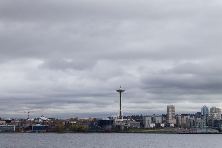 Seattle from the Ferry