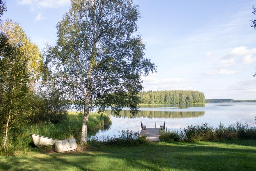 Dock, Lake, Finland