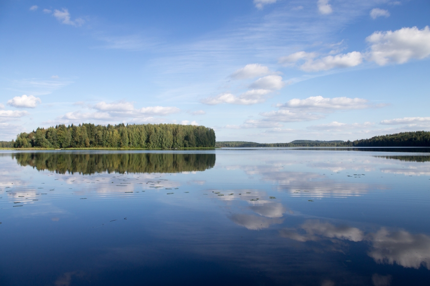 Beautiful Finnish Lake