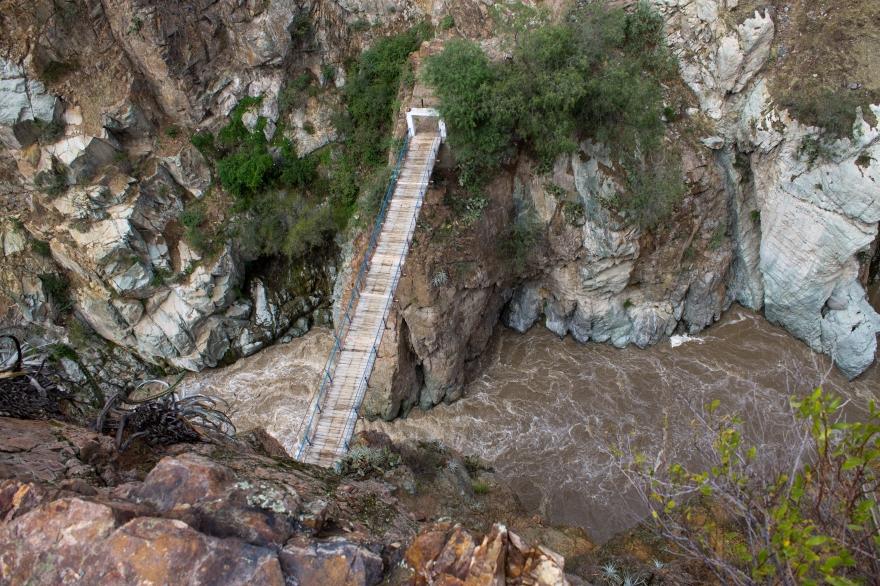 Bridge in Colca