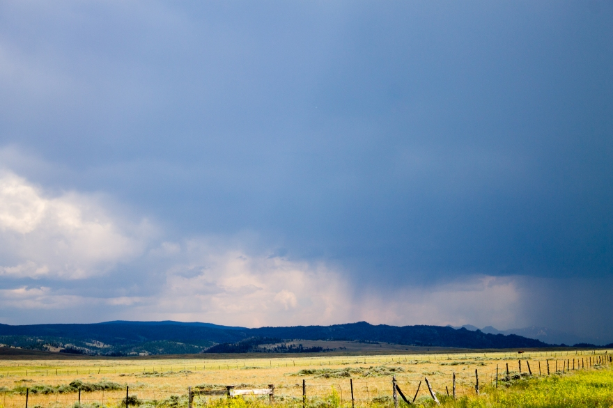 Wyoming Storm Coming