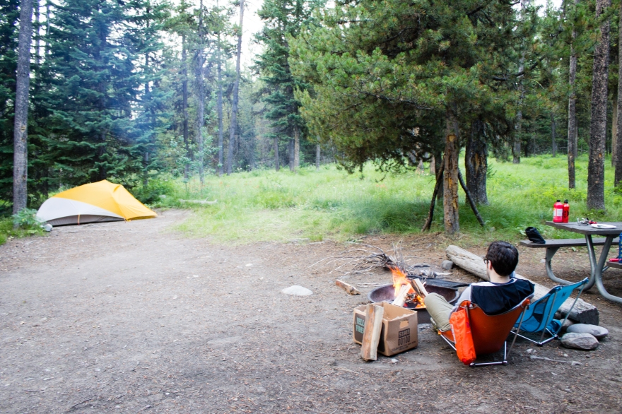 Lizard Creek Campsite