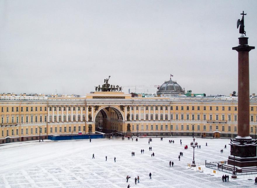Palace Square Saint Petersburg