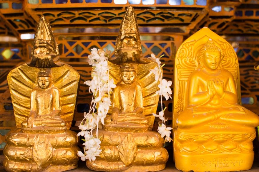 Three Gold Buddhas