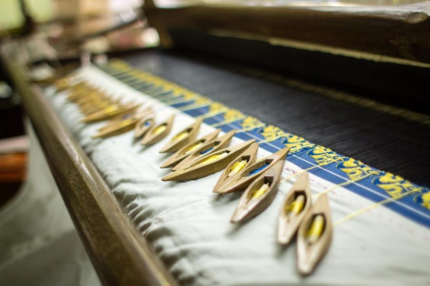 Weaving in Mandalay
