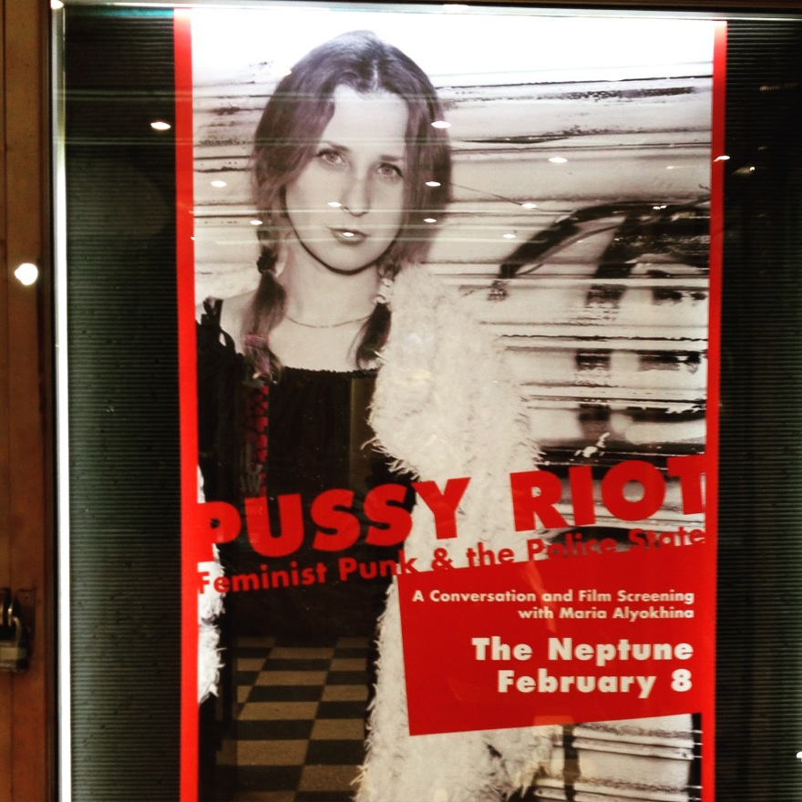 Pussy Riot Poster