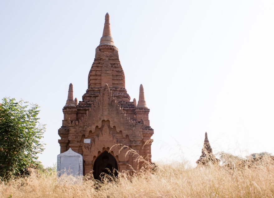 Bagan Temple in the Grass