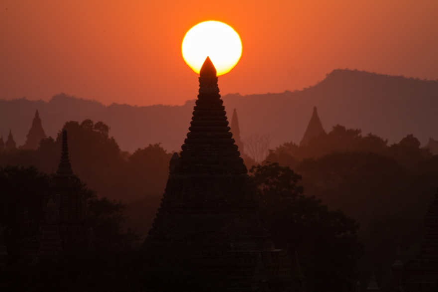 Red Sunset, Bagan