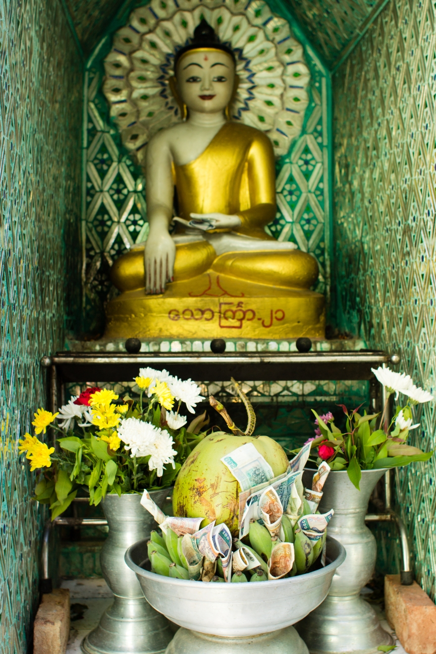Buddha with Fruit, Mount Popa