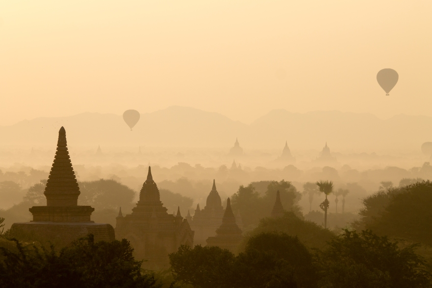 Bagan Morning Mist