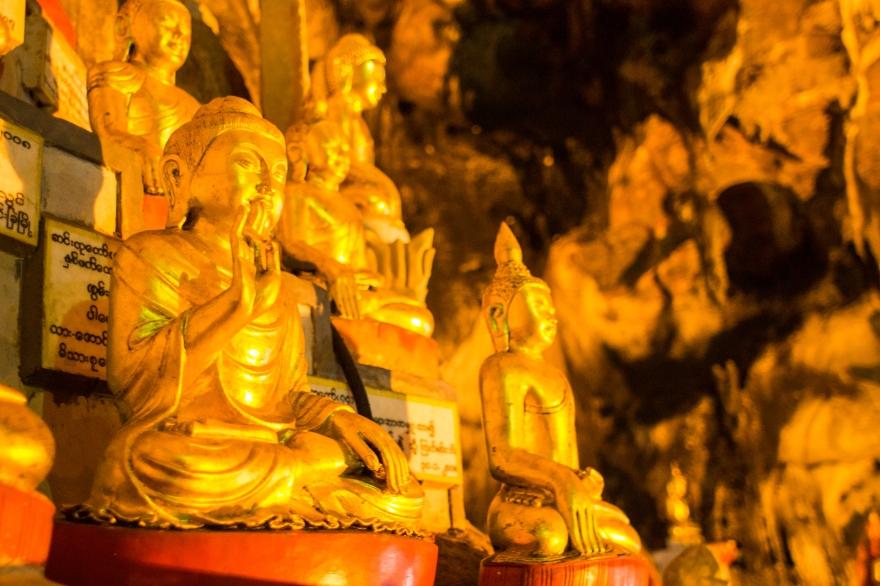 Golden Buddhas, Pindaya Cave