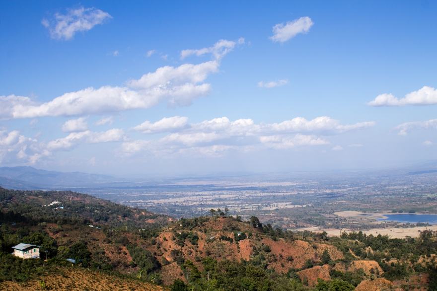 View into the Valley, Shan State