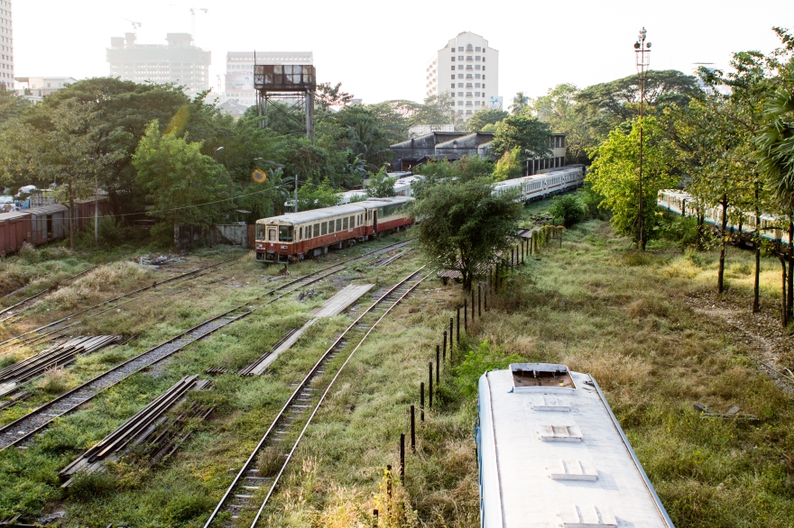 Yangon Trains