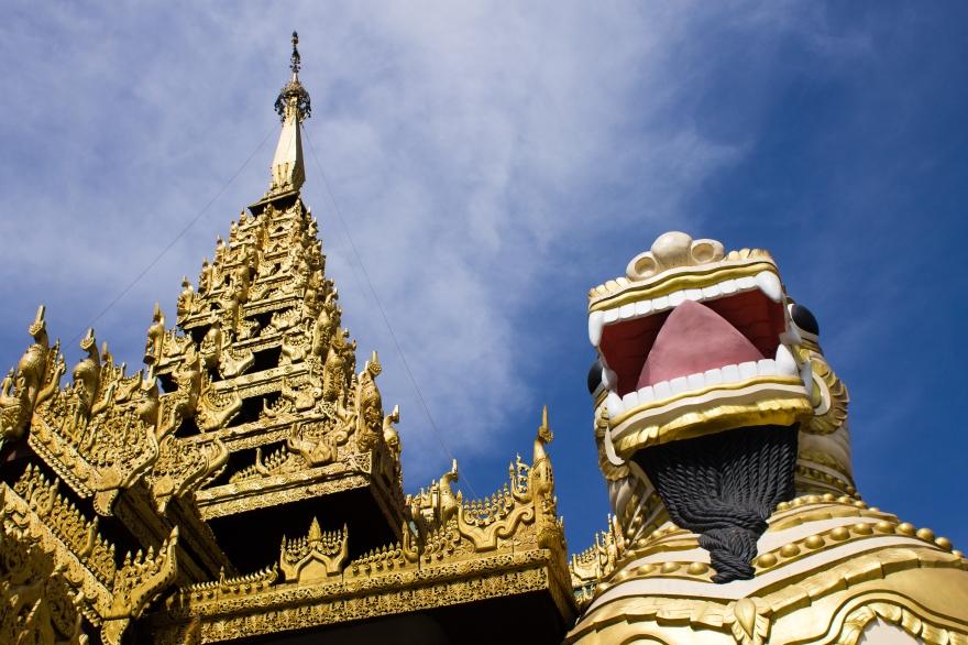 Shwedagon Chinthe