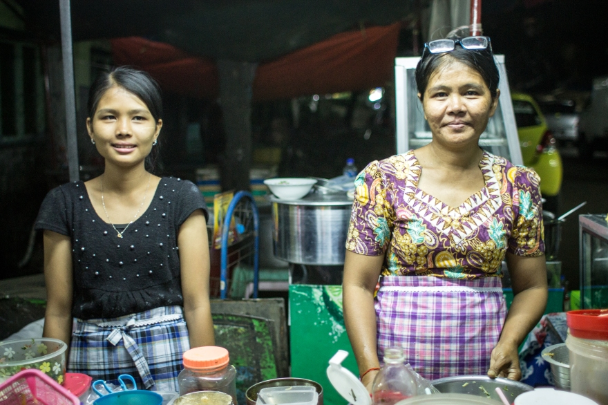 Favorite Yangon Food Vendors