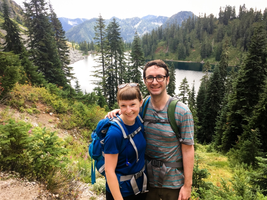 Leah and Ben and Lake Valhalla