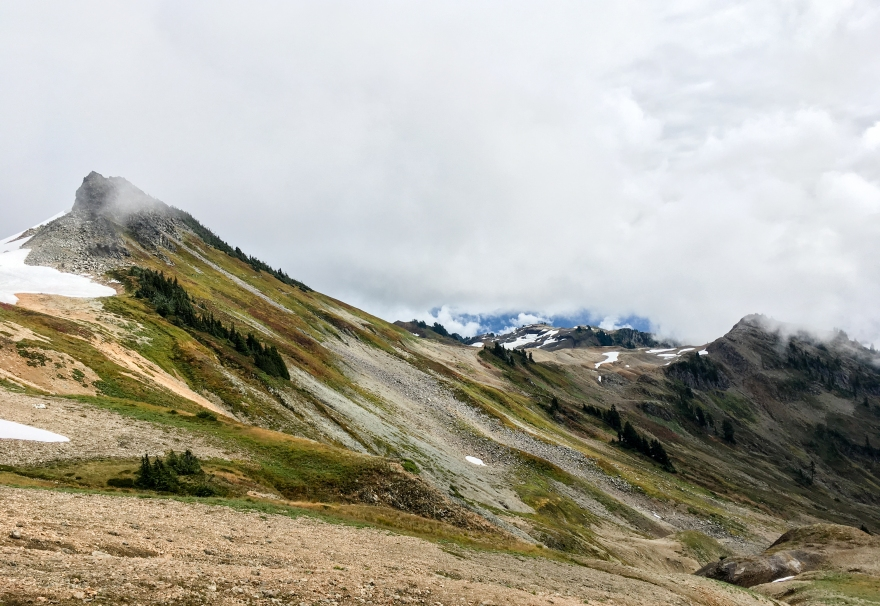 Hiking Ptarmigan Ridge