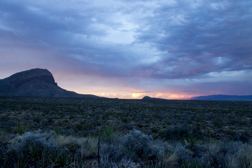 Big Bend Nightfall