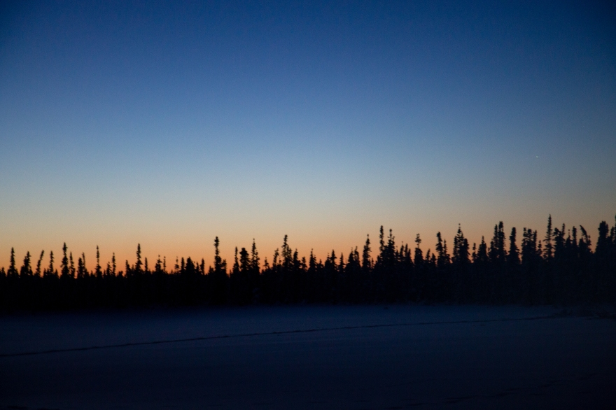 Alaska Winter Sunset